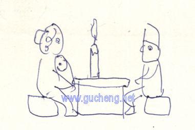 幼儿园烟囱简笔画